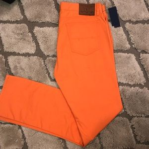 Orange Polo Ralph Lauren Chino Jeans
